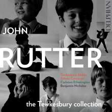 John Rutter (geb. 1945): The Tewskesbury Collection, CD