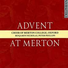 Merton College Choir Oxford - Advent At Merton, CD
