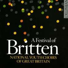 """Benjamin Britten (1913-1976): Geistliche Chorwerke """"A Festival of Britten"""", 2 CDs"""