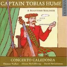 Tobias Hume (1569-1645): A Scottish Soldier - Lieder und Instrumentalmusik, CD