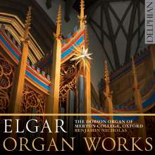 Edward Elgar (1857-1934): Orgelwerke, CD