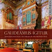 John Kitchen - Gaudeamus Igitur, CD