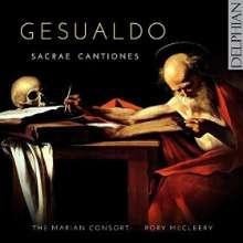 Carlo Gesualdo von Venosa (1566-1613): Sacrae Cantiones I, CD