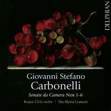 Giovanni Stefano Carbonelli (1690-1772): Sonaten für Violine & Bc Nr.1-6, CD