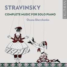 Igor Strawinsky (1882-1971): Klavierwerke, 2 CDs