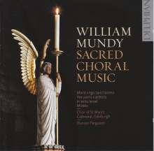 William Mundy (1529-1591): Geistliche Musik, CD