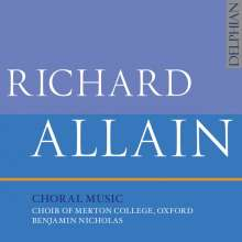 Richard Allain (geb. 1965): Chorwerke, CD