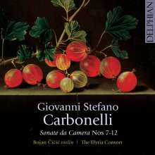 Giovanni Stefano Carbonelli (1690-1772): Sonate da Camera Nr.7-12, CD