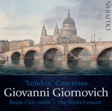 Giovanni Mane Giornovichi (1740-1804): Violinkonzerte Nr.13-15, CD