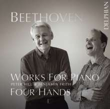 Ludwig van Beethoven (1770-1827): Werke für Klavier 4-händig, CD