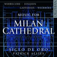 Siglo de Oro - Music for Milan Cathedral, CD