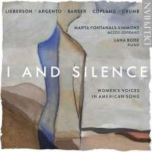 Marta Fontanals-Simmons - I And Silence, CD