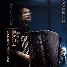 Johann Sebastian Bach (1685-1750): Goldberg-Variationen BWV 988 für Akkordeon, 2 CDs