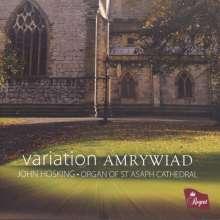 John Hosking - Variations Amrywiad, CD