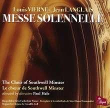 Louis Vierne (1870-1937): Messe solennelle für 2 Orgeln & Chor op.16, CD