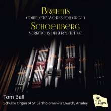 Johannes Brahms (1833-1897): Orgelwerke, CD