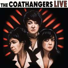 The Coathangers: Live (Limited-Edition) (Black/White/Red Vinyl), LP