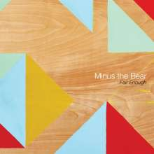 "Minus The Bear: Fair Enough (Limited-Edition) (Coke Bottle Green Vinyl), Single 12"""