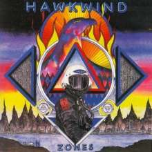 Hawkwind: Zones (180g) (Limited-Edition) (Colored Vinyl), 2 LPs