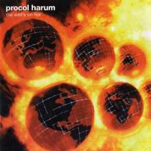 Procol Harum: The Well's On Fire (Limited-Edition) (Clear Red Vinyl), LP