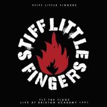 Stiff Little Fingers: Fly The Flags (Live At The Brixton Academy 1991) (Limited-Edition) (Black/White Vinyl), 2 LPs
