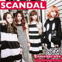 Scandal (Japan): Greatest Hits (European Selection), CD
