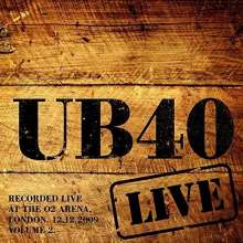 UB40: Live 2009 Vol.2 (Limited-Edition) (Red Vinyl), 2 LPs