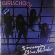 Girlschool: Screaming Blue Murder (Limited-Edition) (Blue Vinyl), LP