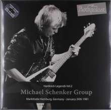 Michael Schenker: Hard Rock Legends Vol.2 - Markthalle Hamburg, Germany - January 24th 1981 (Limited-Edition) (Grey Vinyl), 2 LPs