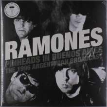 Ramones: Pinheads In Buenos Aires (Limited-Edition) (Clear Vinyl), 2 LPs