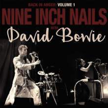 Nine Inch Nails & David Bowie: Back In Anger: The 1995 Radio Transmissions Vol.1 (140g) (Limited Deluxe Edition) (Black Vinyl), 2 LPs