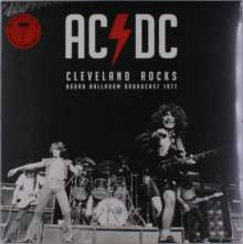 AC/DC: Cleveland Rocks - Ohio 1977 (Limited-Edition) (Red Vinyl), LP