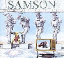 Samson: Shock Tactics, CD