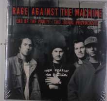 Rage Against The Machine: End Of The Party - The 1990s Broadcasts, 2 LPs