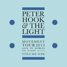 Peter Hook & The Light: Movement Tour 2013 - Live In Dublin Vol.1 (Limited-Edition) (Blue Vinyl), LP