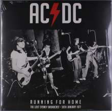 AC/DC: Running For Home - The Lost Sydney Broadcast 30th January 1977, 2 LPs