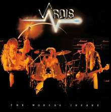 Vardis: The World's Insane, CD