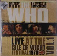 The Who: Live At The Isle Of Wight Festival 1970 Vol. 1 (Limited-Edition) (White Vinyl), 2 LPs