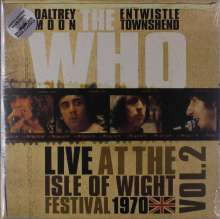 The Who: Live At The Isle Of Wight Festival 1970 Vol. 2 (Limited-Edition) (White Vinyl), LP