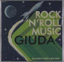 "Giuda: Rock 'N' Roll Music (Green Vinyl), Single 7"""