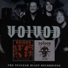 Voivod: The Nuclear Blast Recordings, 2 CDs