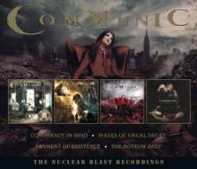 Communic: The Nuclear Blast Recordings, 4 CDs