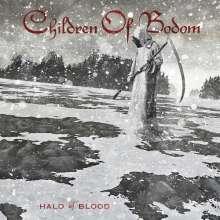 Children Of Bodom: Halo Of Blood (White with Red/Black Splatter Vinyl), LP