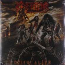 Kreator: Dying Alive (Clear W/ Red And Orange Splatter Vinyl), 2 LPs