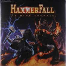 Hammerfall: Crimson Thunder (Blue/White Splatter Vinyl), LP