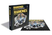 Ramones: Road To Ruin (500 Piece Puzzle), Merchandise