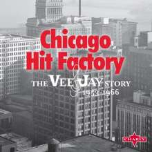 Chicago Hit Factory: The Vee Jay Story 1953 - 1966 (60th Anniversary Commemorative Collection), 10 CDs