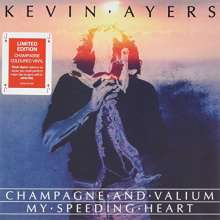 Kevin Ayers: Champagne & Valium (Rsd2017) (Limited-Edition) (Champagne Colored Vinyl), Single 7""