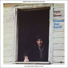 Townes Van Zandt: Flyin' Shoes (remastered) (Limited Edition) (Türkises Vinyl), LP