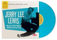 """Jerry Lee Lewis: Down The Road With Jerry Lee (remastered) (Limited-Edition) (Colored Vinyl), Single 10"""""""